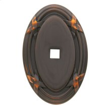 Venetian Bronze Oval Edinburgh Back Plate