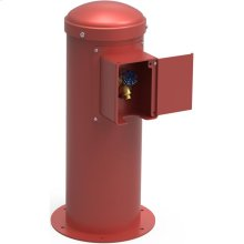 Elkay Yard Hydrant with Locking Hose Bib Non-Filtered, Non-Refrigerated Red