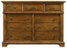 Light Woodtone Portfolio Bedroom Dressing Chest