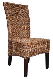 Side Chair, Available in Dark Banana Finish Only.
