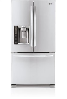 3-Door French Door Refrigerator with Ice and Water Dispenser