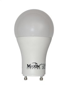 12W Dimmable LED GU24 3000K 110V CRI>=80 Bulb