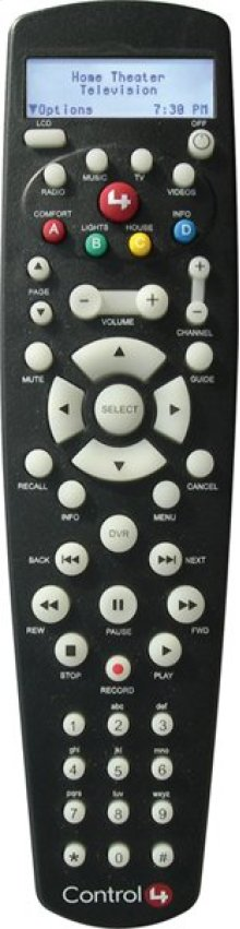 Control4® System Remote Control Version 2