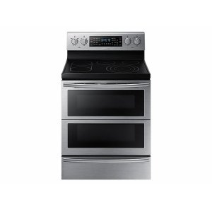 Samsung5.9 cu. ft. Freestanding Electric Range with Flex Duo & Dual Door in Stainless Steel