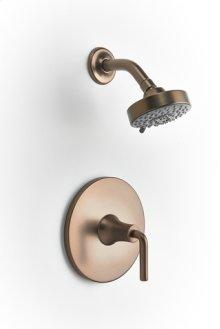 Taos Pressure-balance Shower Set Trim - Bronze