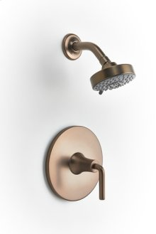 Taos Pressure-balance Shower Set Trim - Bronze