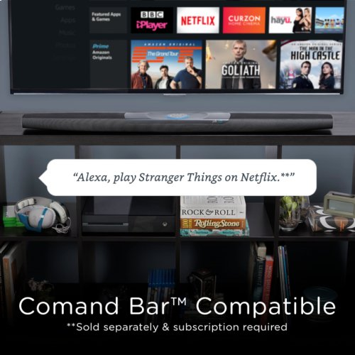 Streaming Media Player with Alexa Voice Remote in Fire TV Stick