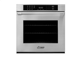 """Heritage 27"""" Single Wall Oven, part of DcorMatch Color System, ships with color matching Pro Style handle (End Caps in stainless steel)."""