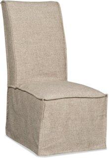 Zuma Linen Armless Dining Chair