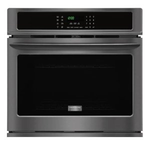 Gallery 30'' Single Electric Wall Oven - BLACK STAINLESS STEEL