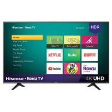 "55"" Class - R7 Series - 4K UHD Hisense Roku TV with HDR (54.6"" diag)"