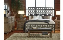 Metalworks Metal Bed, Queen 5/0