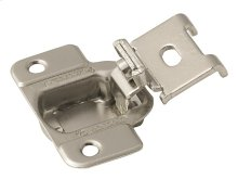 Self-closing, Concealed 1/2in(13mm) Overlay Hinge