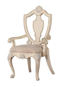 Shield Back Arm Chair W/uph Seat Rta