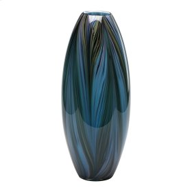 Peacock Feather Vase