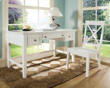"""Oslo Chair, White, 19""""x22""""x39"""" Box Seat"""
