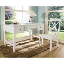 "Oslo Writing Desk, White 54""x28""x30"""