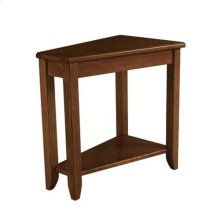 Chairsides Wedge Chairside Table - Oak