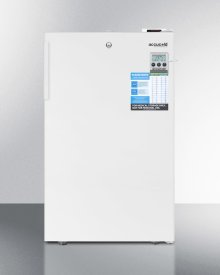 """Commercially Listed 20"""" Wide All-freezer for Built-in Use, With Digital Thermostat, High Temperature Alarm, Lock, and Hospital Grade Cord"""