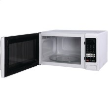 1.6 Cubic-ft Countertop Microwave (White)