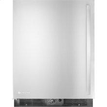 "Under Counter Refrigerator, 24""(w), Euro-Style Stainless Handle"