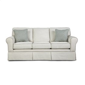 ANNABEL Skirted Sofa With Sock Arm
