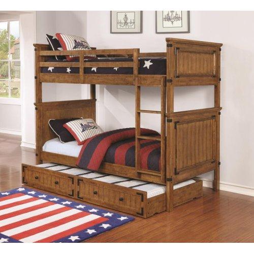 Coronado Rustic Honey Twin-over-twin Bunk Bed
