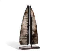 Terra Abstract Horn Sculpture - Large