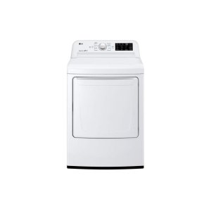 LG 鸭博娱乐s7.3 cu. ft. Gas Dryer with Sensor Dry Technology