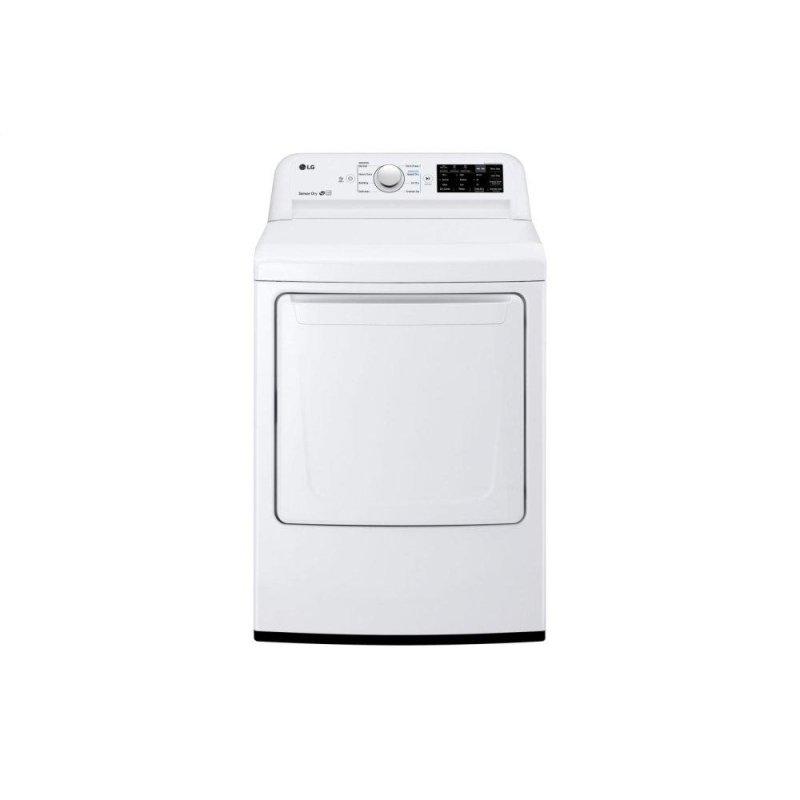 Dlg7101w Lg Appliances 7 3 Cu Ft Gas Dryer With Sensor
