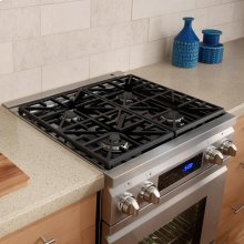 "Distinctive 30"" Dual-Fuel Range,, in Stainless Steel with Natural Gas"