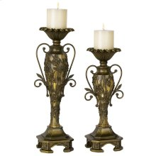 Southern Dogwood Candleholder Set