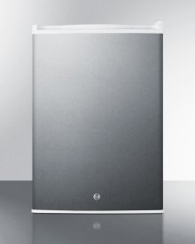 Commercial Style Built-in Capable Compact All-refrigerator In Stainless Steel With Digital Thermostat