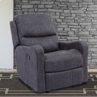 Caleste Ink Manual Glider Recliner Product Image