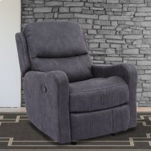 Caleste Ink Manual Glider Recliner