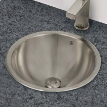Teanna Simply Stainless Round Undermount or Drop-in Stainless Steel Sink - Brushed