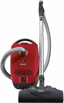 Classic C1 HomeCare PowerLine - SBAN0 canister vacuum cleaners with electrobrush for thorough cleaning of heavy-duty carpeting.
