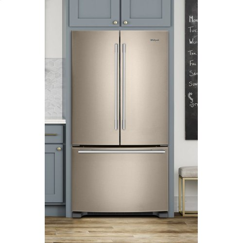 Wrfa32smhn In Fingerprint Resistant Sunset Bronze By Whirlpool In