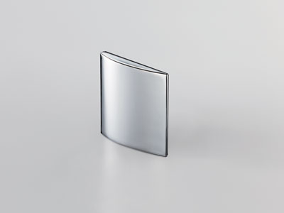 Heavy Duty Concealed Hinge Cover Cap for Glass Doors