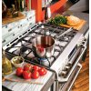 """Ge Cafe(tm)  30"""" Slide-In Front Control Gas Double Oven With Convection Range"""