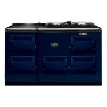 Dark Blue 4-Oven AGA Cooker (gas) Cast-iron range cooker