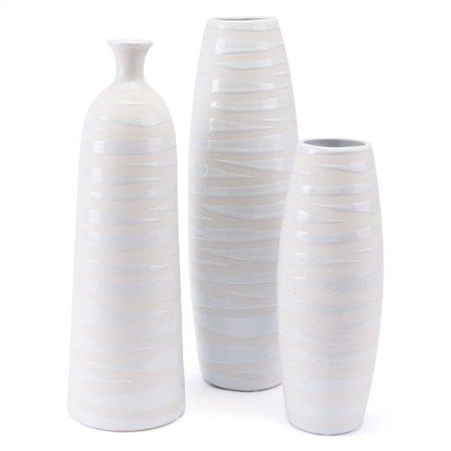 Mol Md Vase Matte White