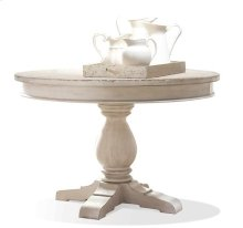 Aberdeen Table Pedestal 24 lbs Weathered Worn White finish