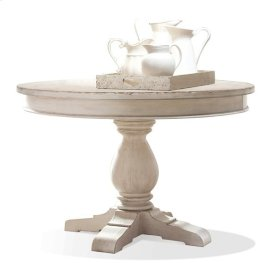 Aberdeen Table Base 20 lbs Weathered Worn White finish
