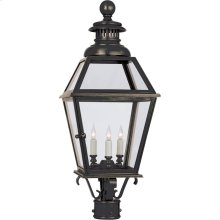 Visual Comfort CHO7111BZ E. F. Chapman Chelsea 3 Light 30 inch Bronze Outdoor Post Lantern
