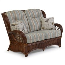 Rattan Loveseat 5402