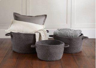 Heathered Grey Braided Rugs