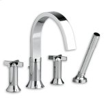American StandardSatin Nickel Berwick Deck-Mount Tub Filler