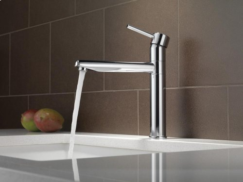 Chrome Single Handle Kitchen Faucet