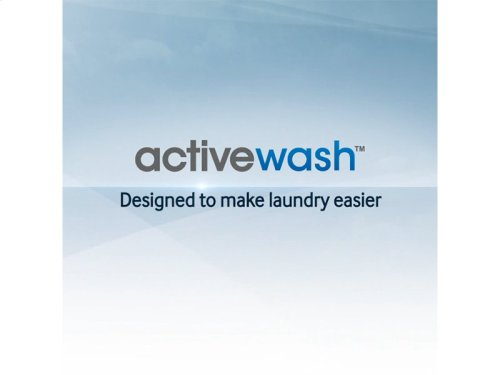 WA8700 5.2 cu. ft. Top Load Washer with activewash